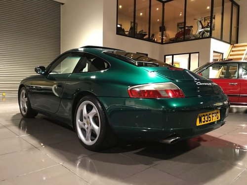 2000 PORSCHE 911 CARRERA 4 TIPTRONIC S RAINFOREST GREEN For Sale (picture 2 of 6)