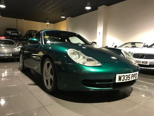 2000 PORSCHE 911 CARRERA 4 TIPTRONIC S RAINFOREST GREEN For Sale (picture 3 of 6)