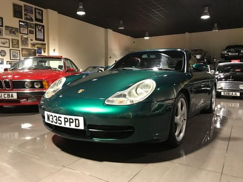 2000 PORSCHE 911 CARRERA 4 TIPTRONIC S RAINFOREST GREEN For Sale (picture 5 of 6)