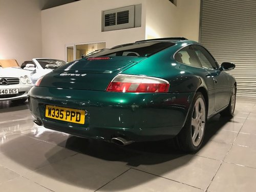 2000 PORSCHE 911 CARRERA 4 TIPTRONIC S RAINFOREST GREEN For Sale (picture 6 of 6)