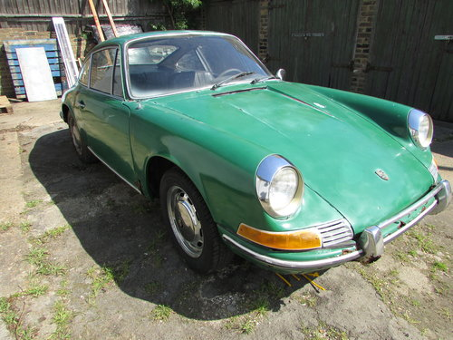 1969 Porsche 912 for restoration For Sale (picture 1 of 5)