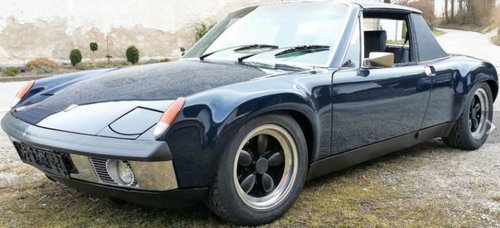 1970 REDUCED - RESTORED PORSCHE 914/6 WITH PATINA For Sale (picture 2 of 6)