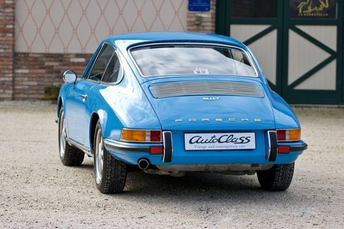 1970 Porsche 911 2.2 T -Fully restored- Porsche certification  For Sale (picture 3 of 6)