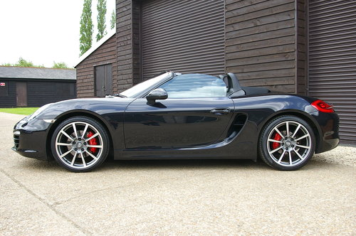 2014 Porsche 981 Boxster 3.4 S PDK Auto (43,923 miles) SOLD (picture 1 of 6)