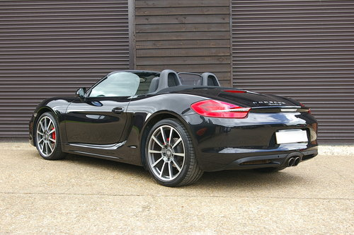 2014 Porsche 981 Boxster 3.4 S PDK Auto (43,923 miles) SOLD (picture 3 of 6)
