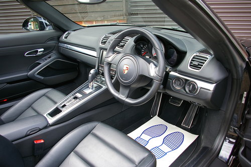 2014 Porsche 981 Boxster 3.4 S PDK Auto (43,923 miles) SOLD (picture 5 of 6)