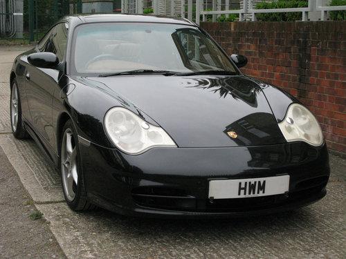 2004 PORSCHE 996 C2 TARGA- BLACK For Sale (picture 1 of 6)
