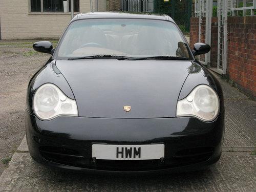 2004 PORSCHE 996 C2 TARGA- BLACK For Sale (picture 2 of 6)