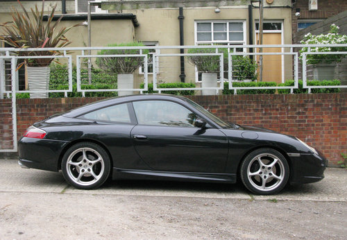 2004 PORSCHE 996 C2 TARGA- BLACK For Sale (picture 3 of 6)