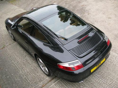 2004 PORSCHE 996 C2 TARGA- BLACK For Sale (picture 5 of 6)