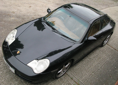 2004 PORSCHE 996 C2 TARGA- BLACK For Sale (picture 6 of 6)