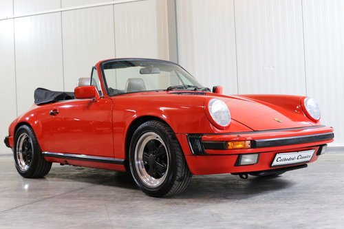 Sensibly priced 1986 Porsche 911 Carrera 3.2 Cabriolet  SOLD (picture 1 of 6)