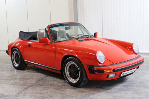 Sensibly priced 1986 Porsche 911 Carrera 3.2 Cabriolet  SOLD (picture 6 of 6)