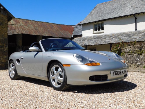 2001 Porsche 986 Boxster 2.7 - super original, only 46k miles SOLD (picture 1 of 6)