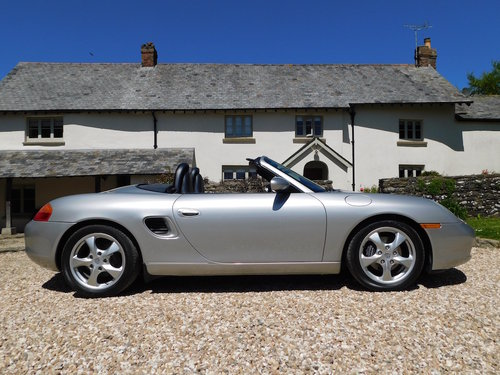 2001 Porsche 986 Boxster 2.7 - super original, only 46k miles SOLD (picture 2 of 6)
