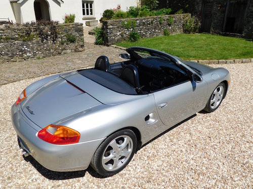 2001 Porsche 986 Boxster 2.7 - super original, only 46k miles SOLD (picture 3 of 6)