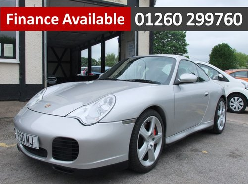 2004 PORSCHE 911 3.6 CARRERA 4 TIPTRONIC S 2DR AUTOMATIC SOLD (picture 1 of 6)