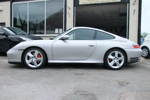 2004 PORSCHE 911 3.6 CARRERA 4 TIPTRONIC S 2DR AUTOMATIC SOLD (picture 2 of 6)