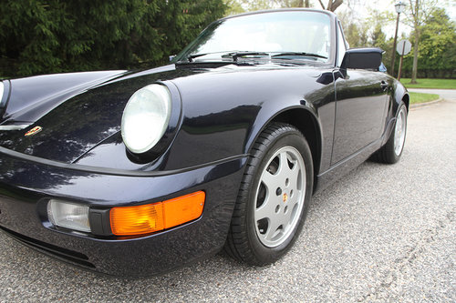 1991 Porsche C2 Cabriolet with 13897 original miles. For Sale (picture 2 of 6)