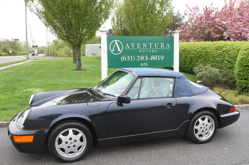 1991 Porsche C2 Cabriolet with 13897 original miles. For Sale (picture 3 of 6)