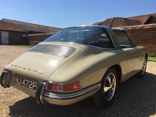 1968 PORSCHE 912 TARGA NUT AND BOLT RESTORED SOLD | Car And