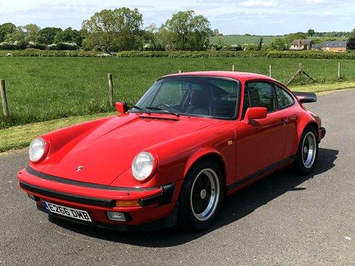 1987 Porsche 911 3.2 Carrera SOLD (picture 1 of 6)