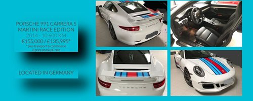 2014 VERY RARE FACTORY MARTINI RACE SPECIAL EDITION SOLD (picture 5 of 5)