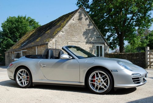 2010 Porsche 911 3.8S C4 CAB For Sale (picture 1 of 6)