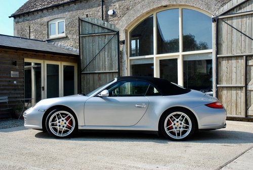 2010 Porsche 911 3.8S C4 CAB For Sale (picture 3 of 6)