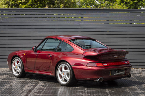 1995 PORSCHE 911 (993) TURBO ONLY UK CAR For Sale (picture 2 of 6)