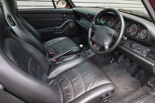 1995 PORSCHE 911 (993) TURBO ONLY UK CAR For Sale (picture 4 of 6)