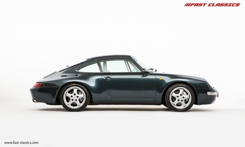 1996 Porsche 911 993 Carrera 4 // Rare Aventurine Green SOLD (picture 1 of 6)