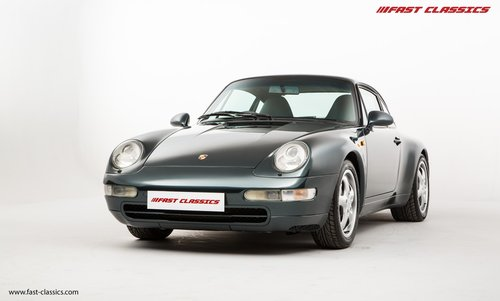 1996 Porsche 911 993 Carrera 4 // Rare Aventurine Green SOLD (picture 2 of 6)