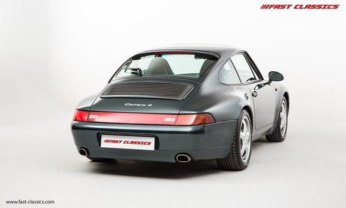 1996 Porsche 911 993 Carrera 4 // Rare Aventurine Green SOLD (picture 5 of 6)