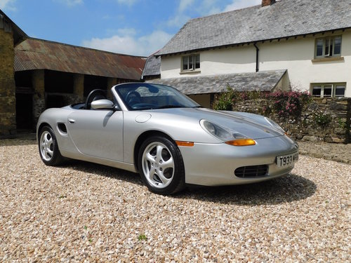 1999 Porsche Boxster 2.5 -  56k miles, excellent throughout SOLD (picture 1 of 6)