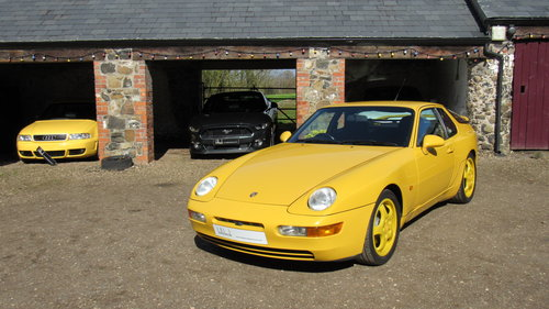 1993 Cherished low mileage 968 Clubsport SOLD (picture 1 of 6)