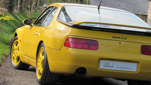1993 Cherished low mileage 968 Clubsport SOLD (picture 6 of 6)