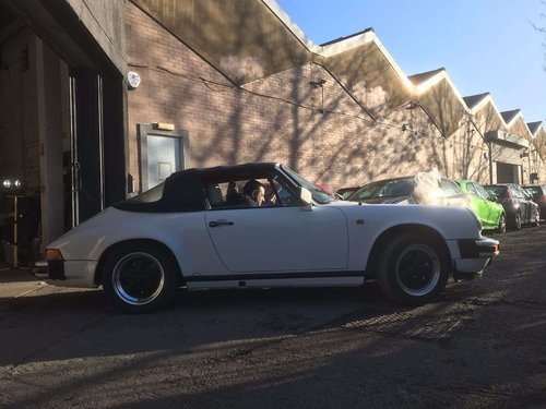 1975 Porsche 911sc 3.2 convertible For Sale (picture 1 of 6)