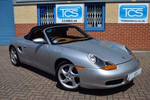 2000 Porsche Boxster 986 2.7i Tiptronic S Roadster SOLD (picture 1 of 6)