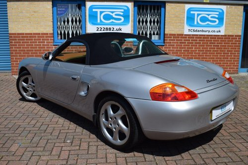 2000 Porsche Boxster 986 2.7i Tiptronic S Roadster SOLD (picture 2 of 6)