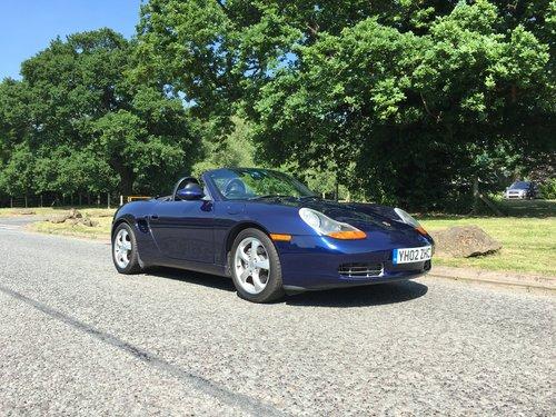 2002 Porsche Boxster 986 2.7L Manual SOLD (picture 1 of 6)