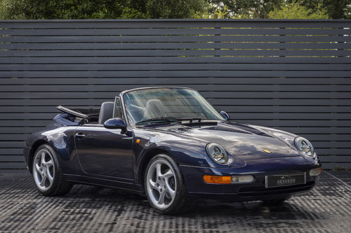 1996 Porsche 911 (993) CARRERA 2 CABRIOLET  SOLD (picture 1 of 6)