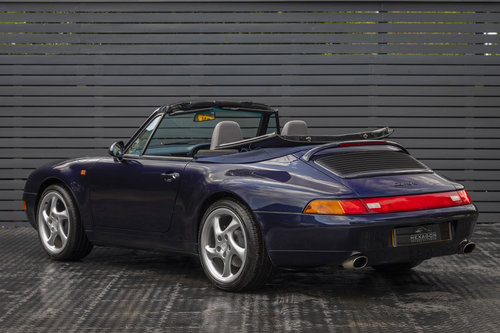 1996 Porsche 911 (993) CARRERA 2 CABRIOLET  SOLD (picture 2 of 6)