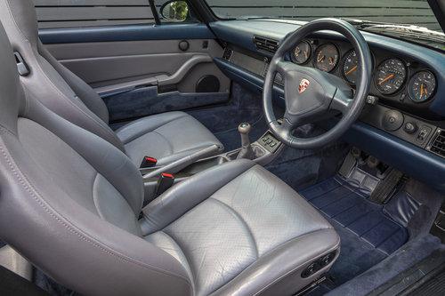 1996 Porsche 911 (993) CARRERA 2 CABRIOLET  SOLD (picture 4 of 6)