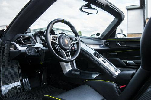 2015 15 Porsche 918 Spyder 4.6 PDK Hybrid For Sale (picture 4 of 6)