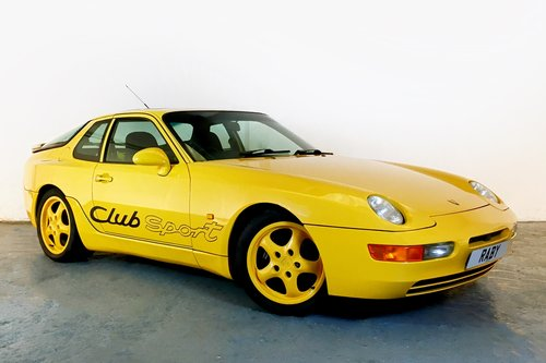 Porsche 968 Club Sport with fantastic history. 1994 For Sale (picture 1 of 6)