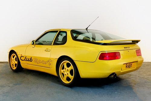 Porsche 968 Club Sport with fantastic history. 1994 For Sale (picture 2 of 6)