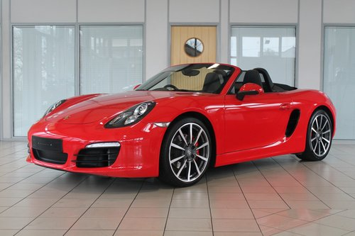 2013/63 Porsche Boxster (981) 3.4 'S' Manual SOLD (picture 1 of 6)