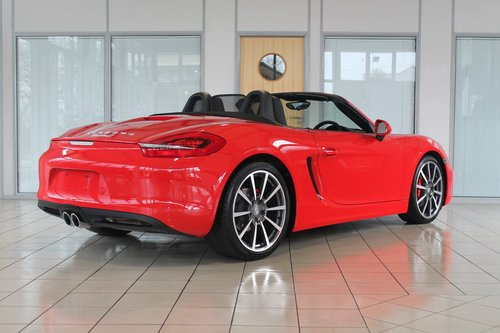 2013/63 Porsche Boxster (981) 3.4 'S' Manual SOLD (picture 2 of 6)