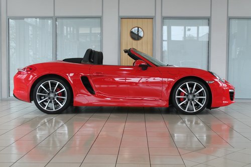 2013/63 Porsche Boxster (981) 3.4 'S' Manual SOLD (picture 4 of 6)